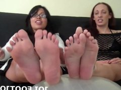 Let me wiggle my toes for you while you jerk off