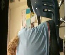 Panties in Class School