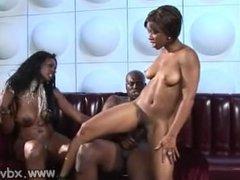 Ebony MILFs Nyomi Banxxx And Imani Entertain