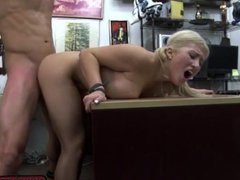 A sexy blonde goes for an extremely hot fuck