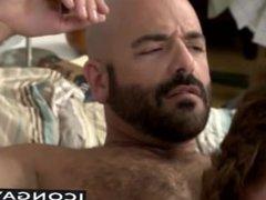 Hottie Adam drills his big dick into his twink stepson