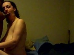 huge saggy tits sucks bbc