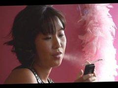 Annie Smoking 2