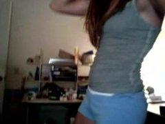 Sexy teen stripper. Lexie LIVE on 1fuckdate.com