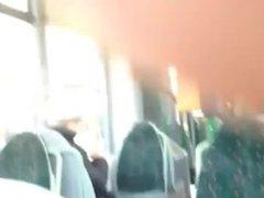 Public transport blowjob. Sherrill from 1fuckdate.com