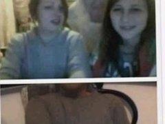 3 polish girls watch my dick and my cum !Chatrad 18 & 19 years