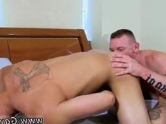 Gay male anal bareback fucking gay male anal sex Tate Gets Pounded Good!