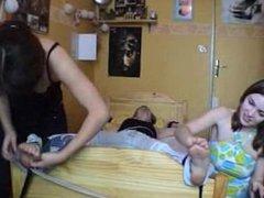 Celine Foot Tickled