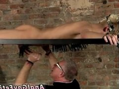 Gay bondage sex porn Blindfolded gimp guy Reece has found himself tied to