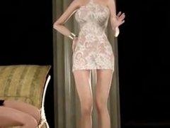 mujeres con pene en 3d