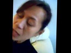 Amateur chinese milf quick blowjob amp facial