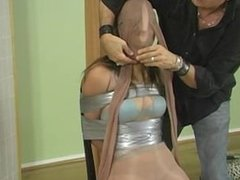 Samantha Pantyhose Hooded