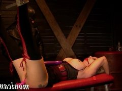 MonicaMilf gets used hard and squirts over and over again