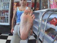 Gas Station Feet 18+
