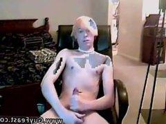 Gay punk rocker sex That is until he starts massaging his man rod through