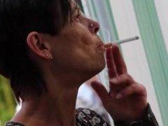 smoking fetish candid #117