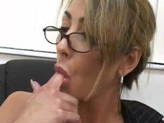Latina MILF Masturbate In Black Stockings