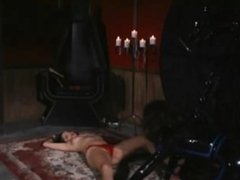 Mistress chokes and tease slave more at fem69.tk