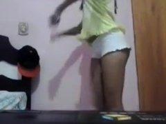 Novinha bunda gostosa na webcam