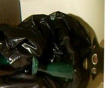 Oilskin and rubber pleasure.
