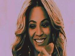 Beyonce hand job jerking