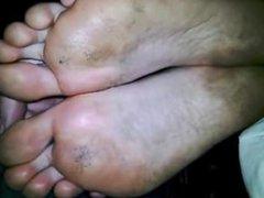 Sleepy Foot Fetish & Big Feet Soles (Dirty Soles) 03