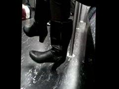 High Heels Boots Leg Bounce