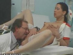 Nurse Does His Doctor And Another Nurse