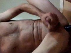 anal dildo and masterbaiting