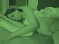 Wake her up, fuck and creampied