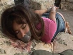 girl tape gagged and fondled