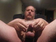 Nipple and Estim Cumshot