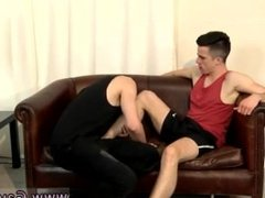 Amazing gay scene His butt is so hungry, Brute opens up him open with a