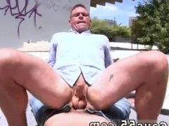Gay porn men fill him with cum hot gay public sex
