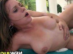 18 year old busty Chrissy Greene gets fucked hard