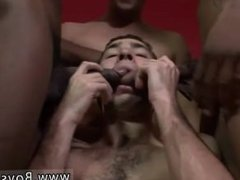 Gay boy fucked in gangbang For a bit of role reversal, Eric the shaft