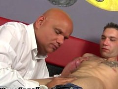 Muscled euro gay cocksucked and rimmed