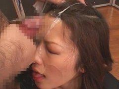 Blow & bukkake - Meisa Hanai