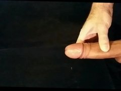 Stroking My Horny Cock With Incredible Cumshot