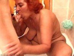Big Butt Thick Red Granny Babushka - 1