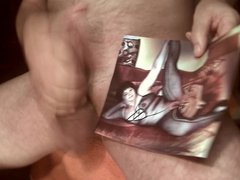 Tribute for andzia77 - cum on face tits and cunt