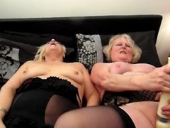 Claire Knight and Sexy Carol from Romford