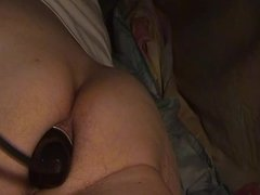 fill my ass inflatable black  Dildo 1