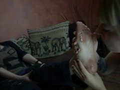 Dirty Feet Licking Lesbian