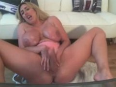 Morg@n on webcam toying