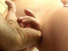 Dildo fucking bitch getting hard cock anal