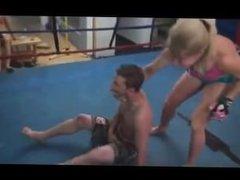 Mixed Wrestling Dia Zerva