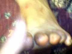 leche en pies de mi mujer 2