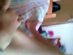 Amateur Serbian girl mastrubates in dorm part 2