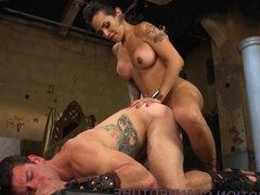 TS Goddess Completely Dominates Man Slave